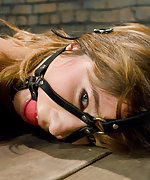 Hot girl fisted and zapped in tight rope bondage