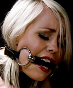 Lorelei put in predicament bondage device