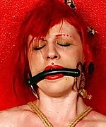 Naga gets hogtied and bit-gagged