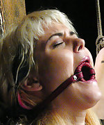 First time in bondage and sexual domination