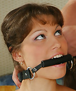 Pegged, clamped, bit-gagged and fucked