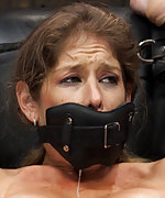 Lusty whore succumbs to extreme immobilizing bondage