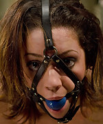 Tough bondage, anal sex and strap-on ass fucking