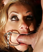 Greta gets roped and fucked