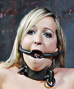 Cuffed, used, gagged, caned, dildoed and vibed